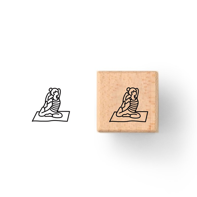 Today Stamps - Yoga