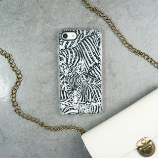 Black eye cushion air cushion anti-fall mobile phone shell [zebra]