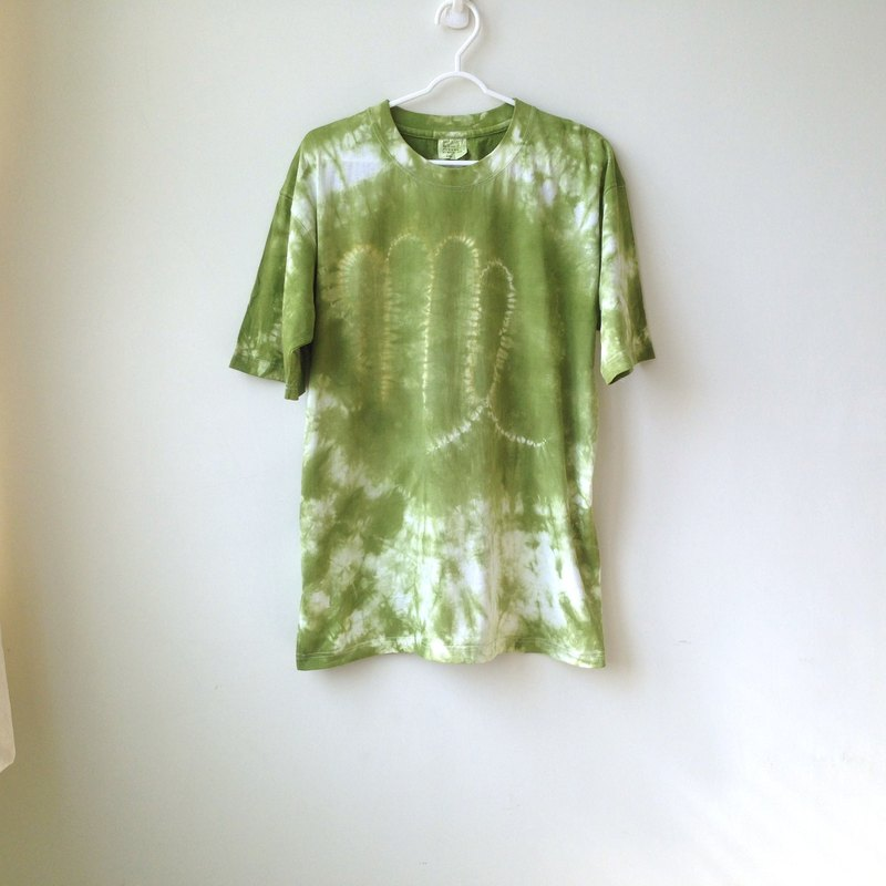 Tie dye 100% cotton T-shirt virgo