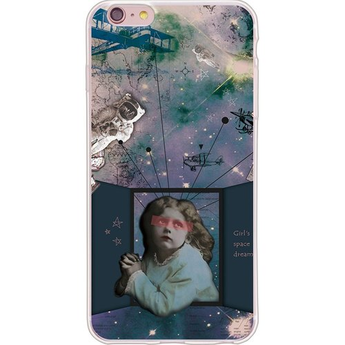 "New series [girl's space dream] -199 Miss-TPU phone case ""iPhone / Samsung / HTC / LG / Sony / millet / OPPO"""