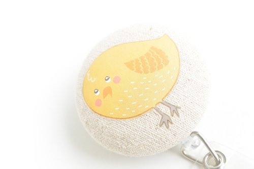 Telescopic handle cloth buckle purse - Birds