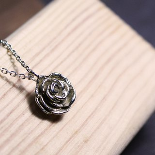 Rose 925 Silver Necklace