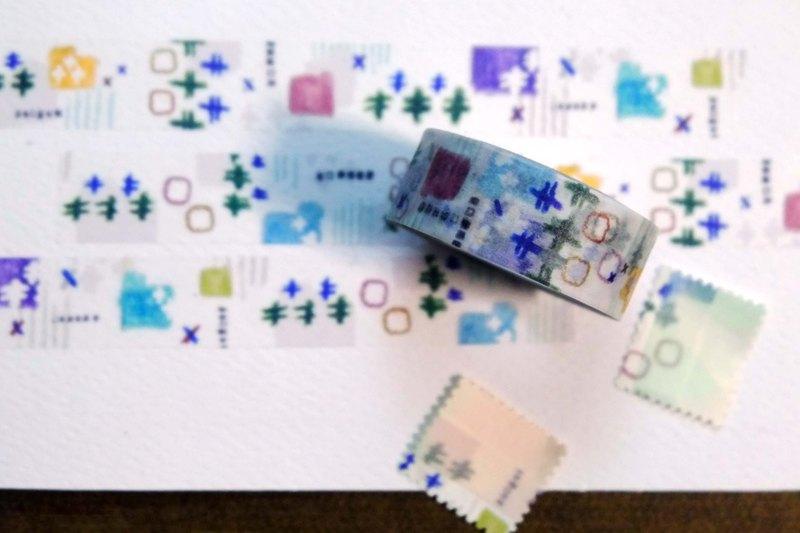 青堂瓦舍 日本和紙 紙膠帶