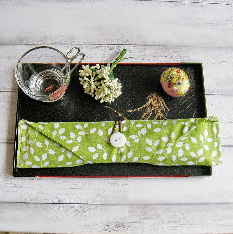 環保餐具組 餐具套 筷子套、餐具布套 飲管袋 CH-010