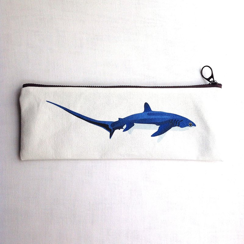 Design No.TS189 - 【Cotton Canvas】26cm Thresher Shark Cutlery Cases