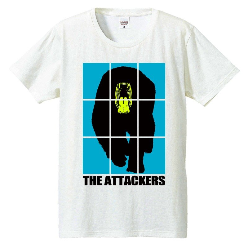 [T-shirt] THE Attackers [Blue]