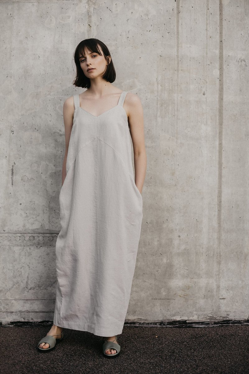 Linen Dress Motumo – 18S11
