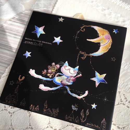 Embellishment tiles · Emily of cats ~ I will pick you up at the moon lift