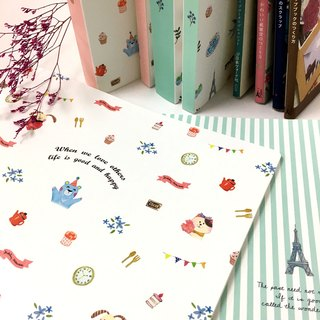 Boge stationery x taste life [40 into the data book] two colors