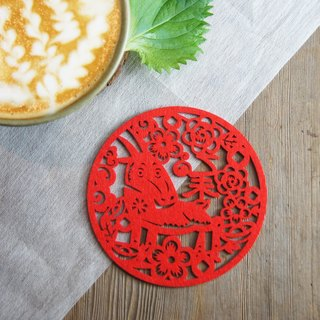 Xu Fu to Fleisch - Yi Wei Year of the Goat coasters