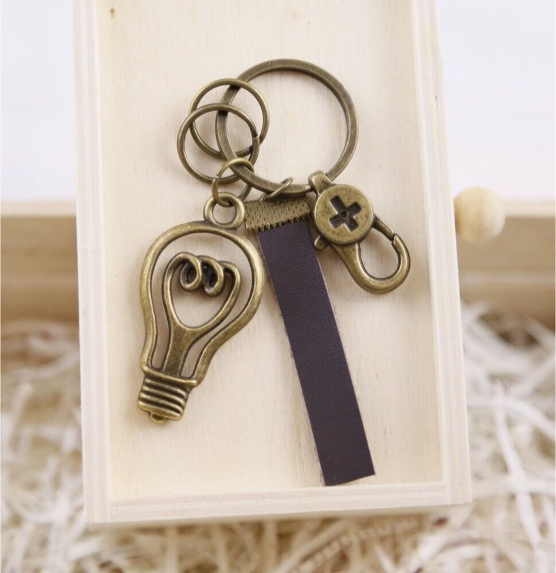 Industrial light bulbs Straps / Key Chains