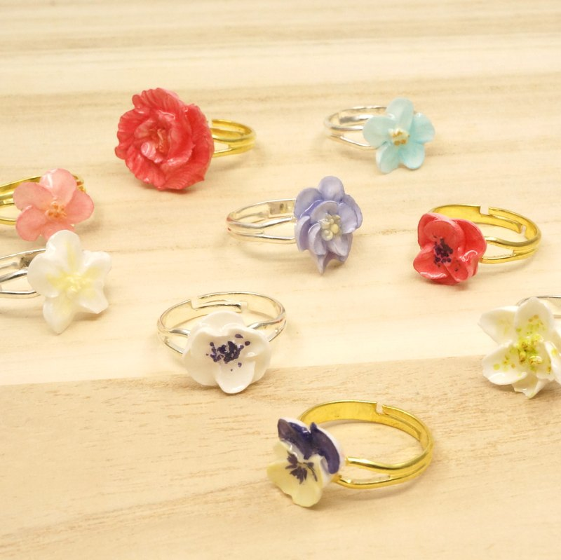 =Flower Piping= Customize Floral Rings