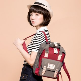 Doughnut Waterproof Mini Macaron Backpack - Earl Grey