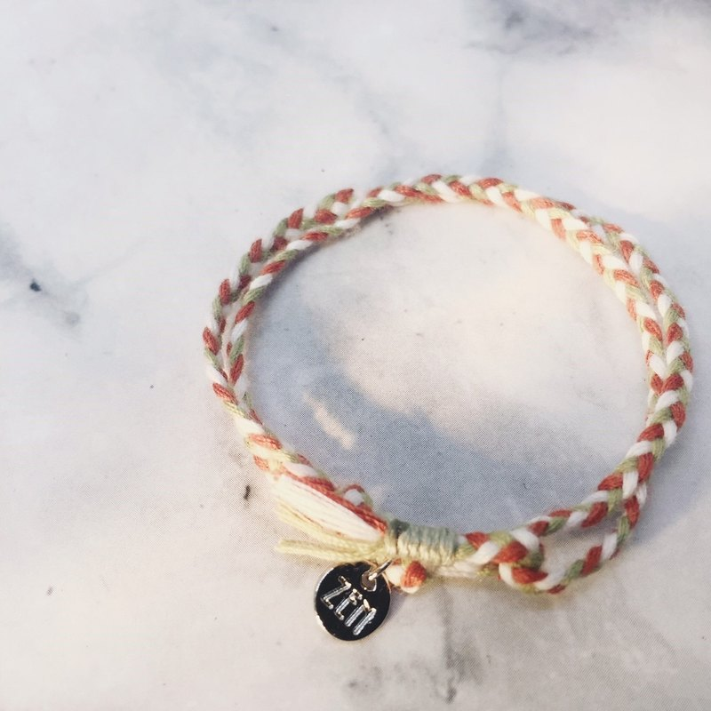 The strongest spell! Lucky Bracelet #8 Persimmon