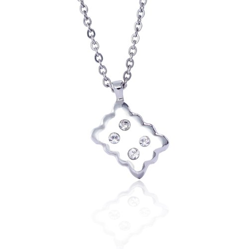 WING Jewelry Woolen Dairy Series - Dessert Series - Milk Biscuit Necklace l 8AA00414