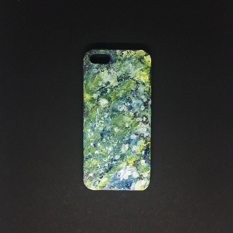 Acrylic Hand Paint Phone Case | iPhone 5s/SE |  Forest