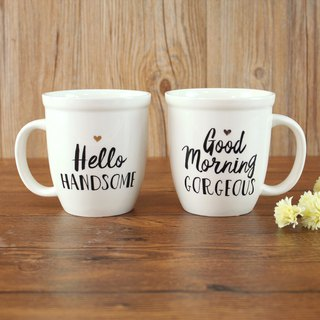 馬克杯套組15oz-Good Morning/Hello | MUGS058