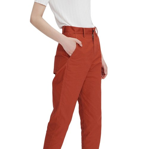 KOOW / My Sunshine summer handsome thin pants simple wild high waist nine cents straight pants