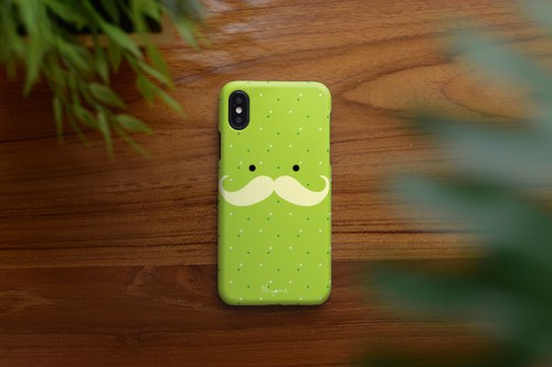iphone case mustache man for iphone5s, 6s, 6s plus, 7, 7+, 8, 8+, iphone x