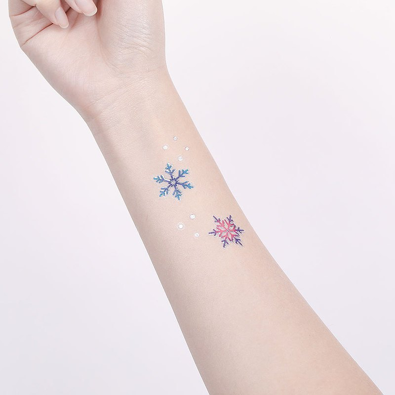 Surprise Tattoos - Snowflake Temporary Tattoo