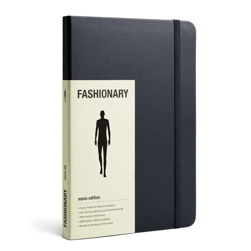 The hand-painted FASHIONARY / M Version / A5 / Black