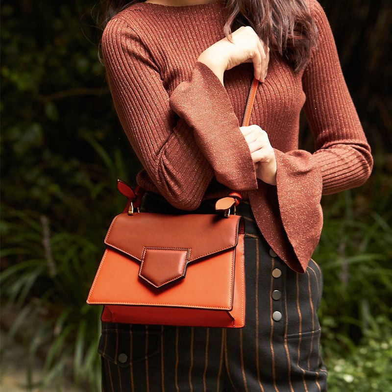 Beilz independent designer temperament elegant one-shoulder slanting deer ear shape cute deer bag