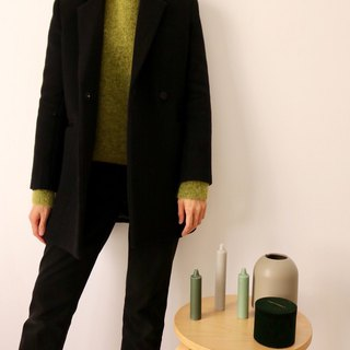 Avocado Sweater 羊毛混馬海毛毛衣
