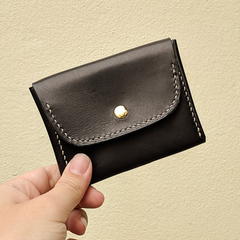 Generous coin purse-handmade leather