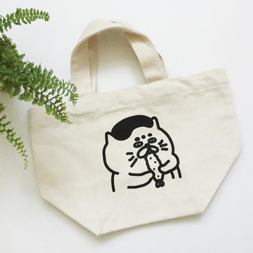 Canvas lunch bag / bag - Shrimp Goro