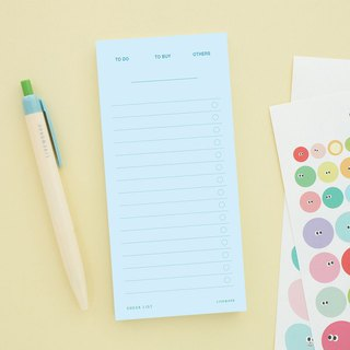 Livework - Ice Cream Sticknotes - To Do List - Blue, LWK39945