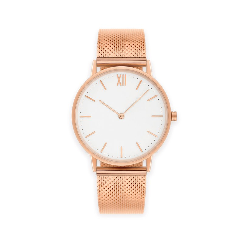 Signature 40 Rose Gold – Stainless Steel Mesh
