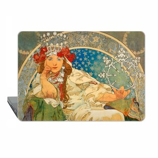 Mucha Macbook case Pro 15 touch bar MacBook Air 13 Case Art Nouveau Macbook 11 Princess Macbook 12 Macbook Pro 13 Retina classic art Case 1720