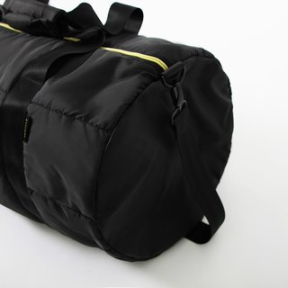 Cylindrical backpack. Black ╳ yellow