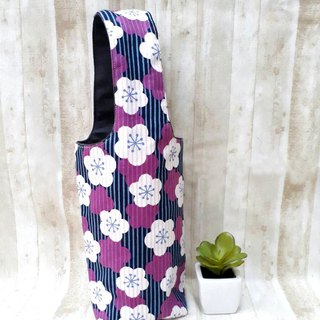 [Iceba Cup. Beverage Bag] 316.304 Stainless Steel Bottle Applicable - Purple Cherry Blossom
