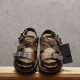 Tsubasa.Y 古著屋 咖啡色001馬汀涼鞋, Dr.Martens England