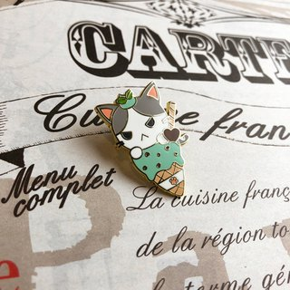 Hako Chocolate Mint Ice-Cream Enamel Pin