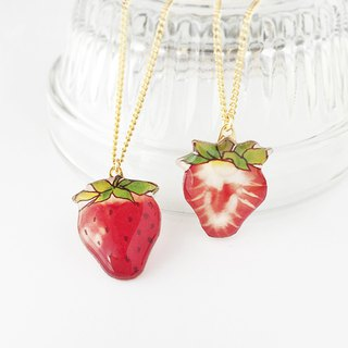 Strawberry Necklace 【Please fill in A · B Remarks column】