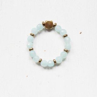 【Amazonite】classic series-retractable rope rings (Customizable )