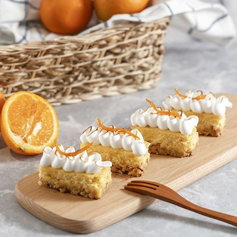 穀物橙香起司條・手作 DIY 甜點・平板教學・一人成班