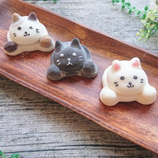 Floating Cat Family Marshmallow (Tricolor)