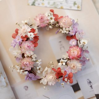 Unfinished | Sunrise Mini Garden Dry Flower Wreaths Props Props Wall Decorations Gifts Gifts Wedding Arrangements Office Small Objects Hydrangea Home Spot