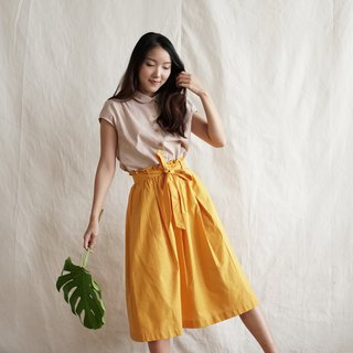 MAPRANG SKIRT - Yellow