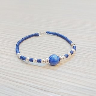 925 sterling silver waxy bracelet gemstone bracelet natural kyanite