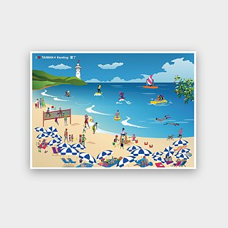 I love Taiwan Postcards ● Kenting Kenting