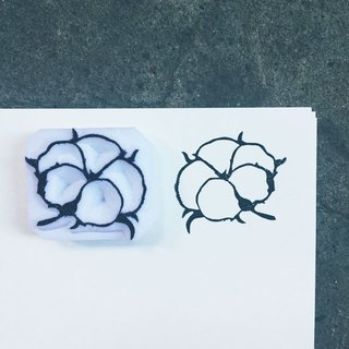 Which hand-stamped seal [Plant _ cotton]