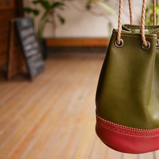 Oxford classic bucket bag - Green paragraph (Hemming)