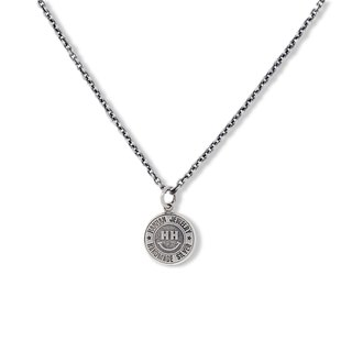 Handmade Silver Classic Logo925 Round Necklace