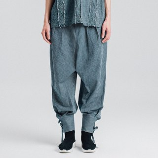 Alan Hu 2018S/S Trousers Tie Trousers