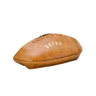 Japan Magnets rugby simulation leather paper cover / face paper box (light coffee) - spot
