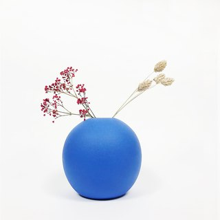 Nordic Matt Color Glaze Vase - Sphere (L)